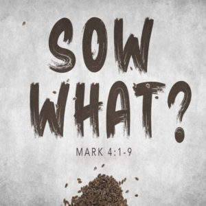 Sow What? – 8:30am (MP3)