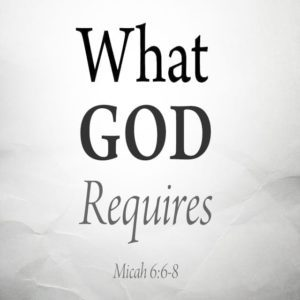 What God Requires – 8:30am (MP3)