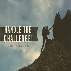 Handle the Challenge! Part III – 8:30am (MP3)