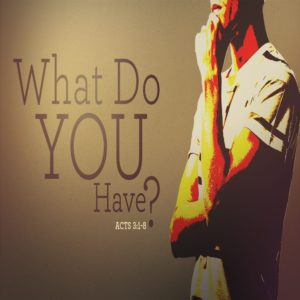 What Do You Have? – MP3