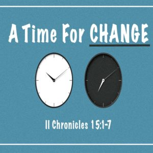A Time For Change – 11:00 – MP3